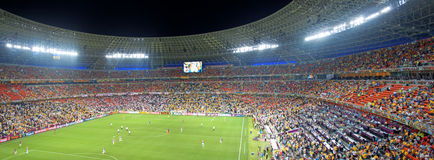 Soccer Stadium Donbass Arena Stock Images