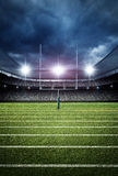 Soccer stadium 3d rendering Royalty Free Stock Images