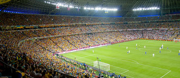 Soccer Stadium Donbass Arena Stock Photo