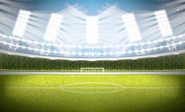 Soccer Stadium. Football Arena. Royalty Free Stock Photos
