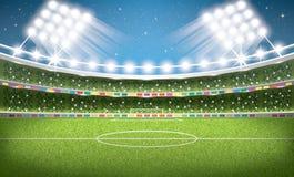 Soccer Stadium. Football Arena. Vector Illustration vector illustration