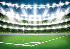 Soccer Stadium. Football Arena. Vector Illustration Stock Photography