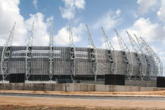 The soccer stadium of Fortaleza, Brazil Royalty Free Stock Image