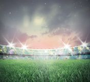 Soccer stadium Stock Images
