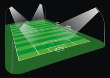 Soccer Stadium illustration Royalty Free Stock Image