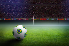 Soccer stadium stock photos