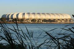 Soccer Stadium, Port Elizabeth, South Africa Royalty Free Stock Images