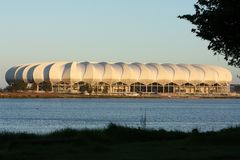 Soccer Stadium, Port Elizabeth, South Africa Stock Photos