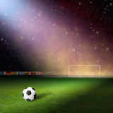Soccer staduim Royalty Free Stock Photos
