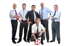 Soccer supporters Royalty Free Stock Photography
