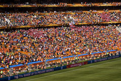 Soccer Supporters at Soccer City - FIFA WC 2010 Stock Images