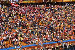 Soccer Supporters at Soccer City - FIFA WC Stock Photo