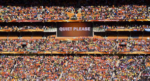 Soccer Supporters at Soccer City - FIFA WC Royalty Free Stock Image