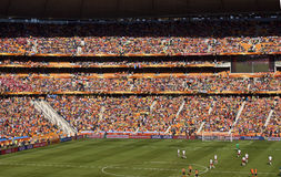 Soccer Supporters at Soccer City - FIFA WC Royalty Free Stock Photography