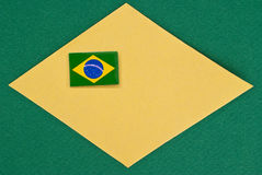 Soccer 2014. Symbol of soccer world cup Royalty Free Stock Photos