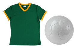 Soccer T-Shirt. Isolated Royalty Free Stock Photo