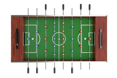 Soccer Table Football Game. 3d Rendering stock images