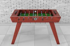 Soccer Table Football Game. 3d Rendering vector illustration