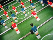 Soccer table game Stock Images