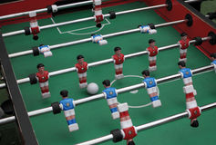Soccer table game Stock Photos