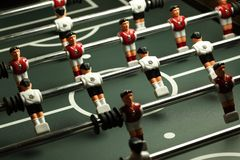 Soccer table game Stock Image