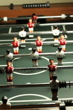 Soccer table game Royalty Free Stock Photo