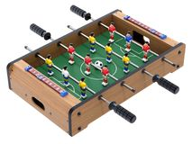 Soccer table game for kids Stock Photo
