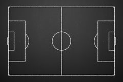 Soccer tactics Stock Images