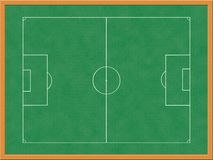 Soccer tactics board Royalty Free Stock Photo