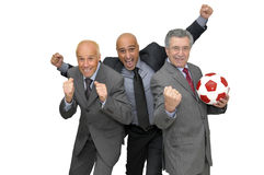 Soccer team Royalty Free Stock Image