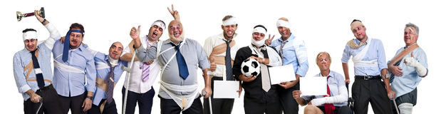 Soccer team Stock Images