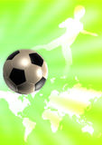 Soccer Template royalty free illustration