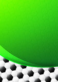 Soccer template design Royalty Free Stock Photo