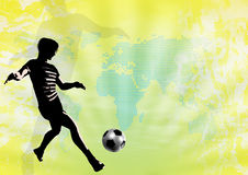 Soccer Template Stock Photo