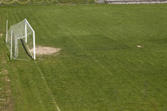 Soccer terrain in nature. Soccer terrain by the forrest Stock Photo