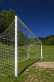 Soccer terrain in nature. Soccer terrain by the forrest Royalty Free Stock Image
