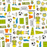 Soccer Texture Royalty Free Stock Image