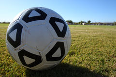 Soccer theme Royalty Free Stock Photo