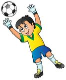 Soccer theme image 2 Stock Photography