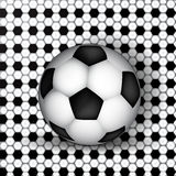 Soccer theme Royalty Free Stock Images