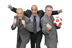 Soccer time Stock Image