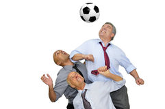 Soccer time Stock Photography