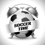 Soccer Time Royalty Free Stock Photo