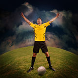 Soccer time Royalty Free Stock Image