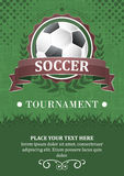Soccer tournament  background. Stock Image