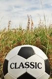 Soccer, traditional ball Stock Photography