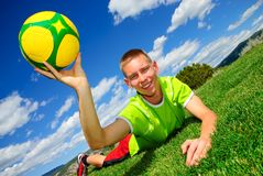 Soccer Training Royalty Free Stock Photos