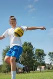 Soccer training Royalty Free Stock Image