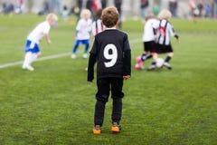 Soccer training for children Stock Photography