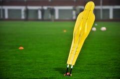 Soccer training dummy Stock Photo